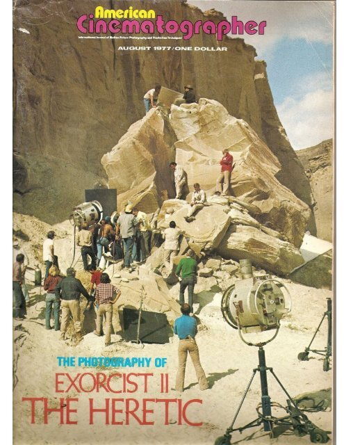 American Cinematographer August 1977