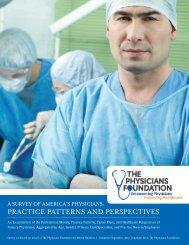 Survey - The Physicians Foundation