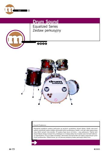DRUM SOUND Equalized - Music Info