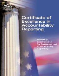 View the CEAR Program Brochure - AGA