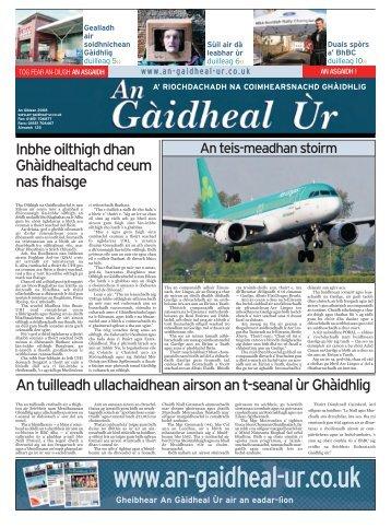 An Giblean 2008 - Fòram na Gàidhlig