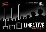 Linea Live I II III Systems.pdf - Fohhn Audio AG.