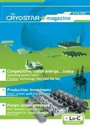 The Cryostar Magazine N°7 : pdf file