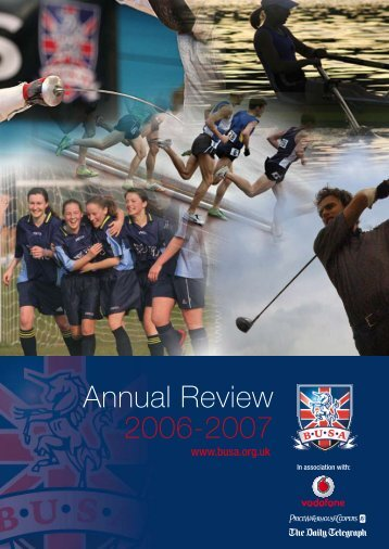 BUSA Annual Review 2006 - 2007