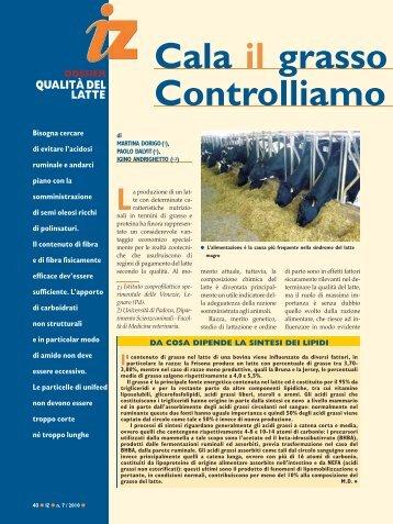 Leggi l'intero lavoro in formato pdf - Agricoltura24
