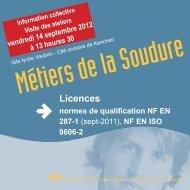 Flyer soudure.indd - Brest Information Jeunesse