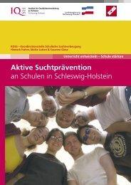 Aktive Suchtprävention an Schulen in Schleswig-Holstein - KOSS