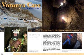 Varonya Cave - X-Ray Magazine