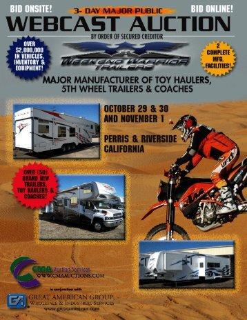 Weekend Warrior Brochure - All World, Inc.