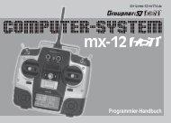 Download Graupner MX-12 HoTT Programmierhandbuch GER