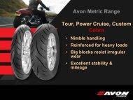 Avon Metric Range Tour, Power Cruise, Custom Cobra