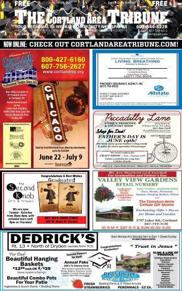 DEDRICK'S - The Cortland Area Tribune