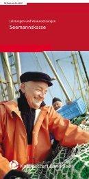 Leistungen und Voraussetzungen (PDF/136 KB)