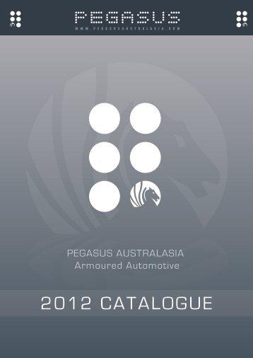Ballistic Vechile Catalogue 2012 - pegasus