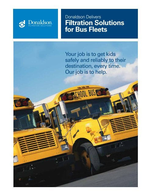 Filtration Solutions for Bus Fleets - Donaldson Company, Inc.