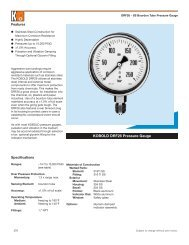 DRF26 - Stainless Steel Bourdon Tube Pressure Gauge - CA Briggs