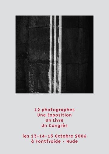 12 photographes Une Exposition Un Livre Un Congrès les 13-14-15 ...