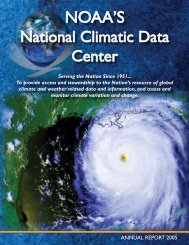NOAA'S - National Climatic Data Center - NOAA
