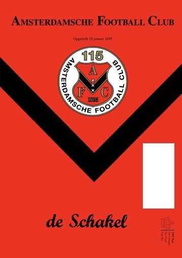 13 oktober 2010 89ste jaargang nummer 3 - AFC, Amsterdam