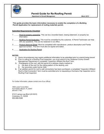 Re Roof Processing And Vetting Checklist