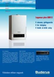 Logamax plus GB012 - Buderus Hungária Fűtéstechnika Kft.