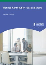 3199cb (09-12) Defined Contribution Member Guide - Irish Life