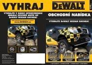 DeWALT obchodní nabídka 2Q2011