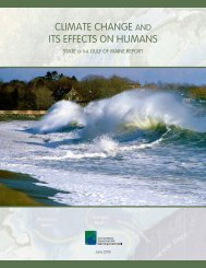 Climate Change and its Effects on Humans - Gulf of Maine Council ...