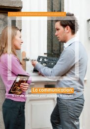 La communication: - Besafe