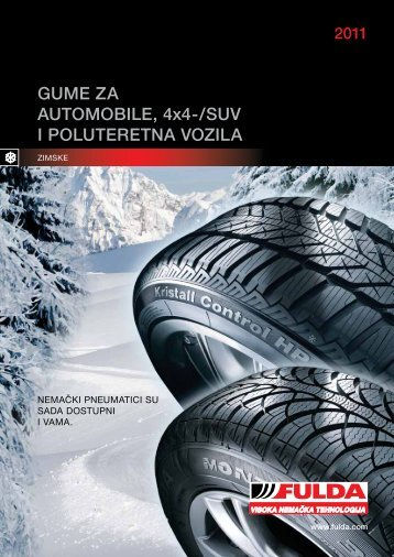 Fulda Katalog guma 2011