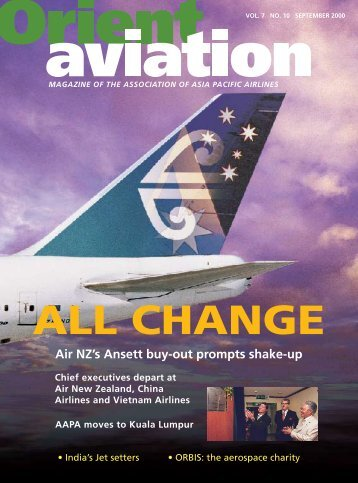 The Association of Asia Pacific Airlines - Orient Aviation
