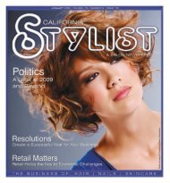 January - Stylist and Salon Newspapers