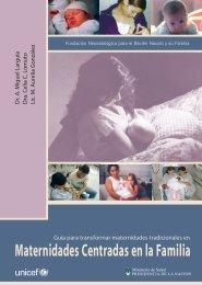 Maternidades Centradas en la Familia - Ministerio de Salud