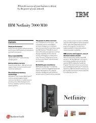 IBM Netfinity 7000 M10