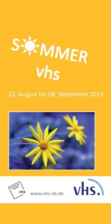 Korrekturabzug Sommer 2013.indd - vhs Südliche Bergstraße eV