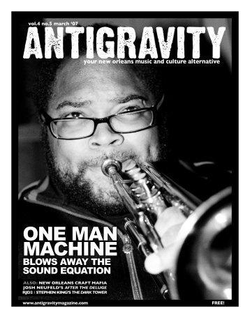March 2007 (PDF) - Antigravity Magazine