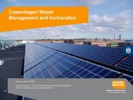 Copenhagen Waste Management and Incineration