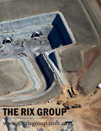 THE RIX GROUP - The International Resource Journal