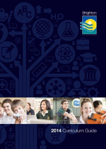 2014 Curriculum Guide - Brighton Secondary School