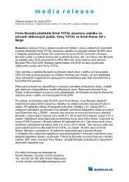 tisková zpráva TOTAL ROSIER - Linzer Agro Trade