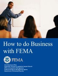 How to do Business with FEMA - Angelina College Procurement ...