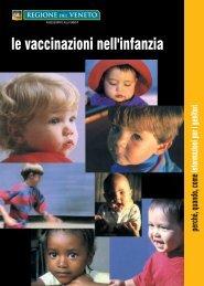 Le vaccinazioni nell'infanzia - Azienda Ulss 12 veneziana