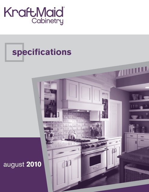 Specifications Roberts Company Inc, Kraftmaid Appliance Garage Dimensions