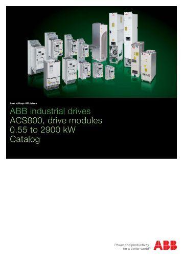 ACS800 Catalogue