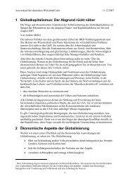 1 Globalkapitalismus: Der Abgrund rückt näher 2 ... - Hermann Patzak