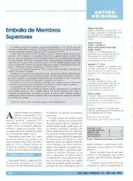 Embolia de Membros Superiores