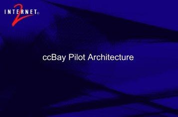 Pilot Architecture (PDF) - Internet2 Middleware Initiative