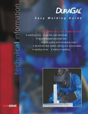 easy welding - OneSteel