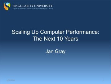 Scaling Up Computer Performance: The Next 10 Years - FPGA CPU