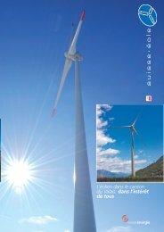 L'éolien dans le canton du Valais: dans l'intérêt de tous - Suisse-Eole